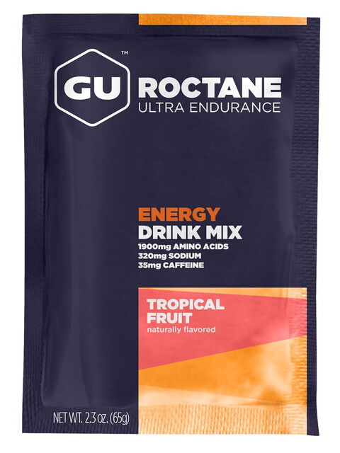 GU Energy Roctane Ultra Endurance Energy Drink Tüte Tropical Fruit 65g